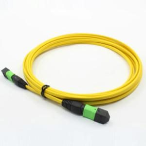 Plenum Rated Trunk Cable, Single Mode (Yellow) MTP(APC) to MTP(APC)