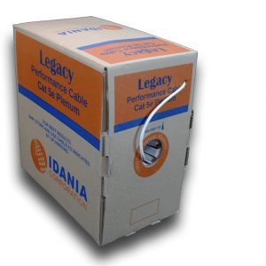 CAT5E 24AWG Plenum Rated Pull Pack Boxes from IDANIA