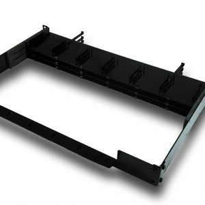 Patented Fiber Cassette Rack – Holds Three 8 Fiber Cassette Trays