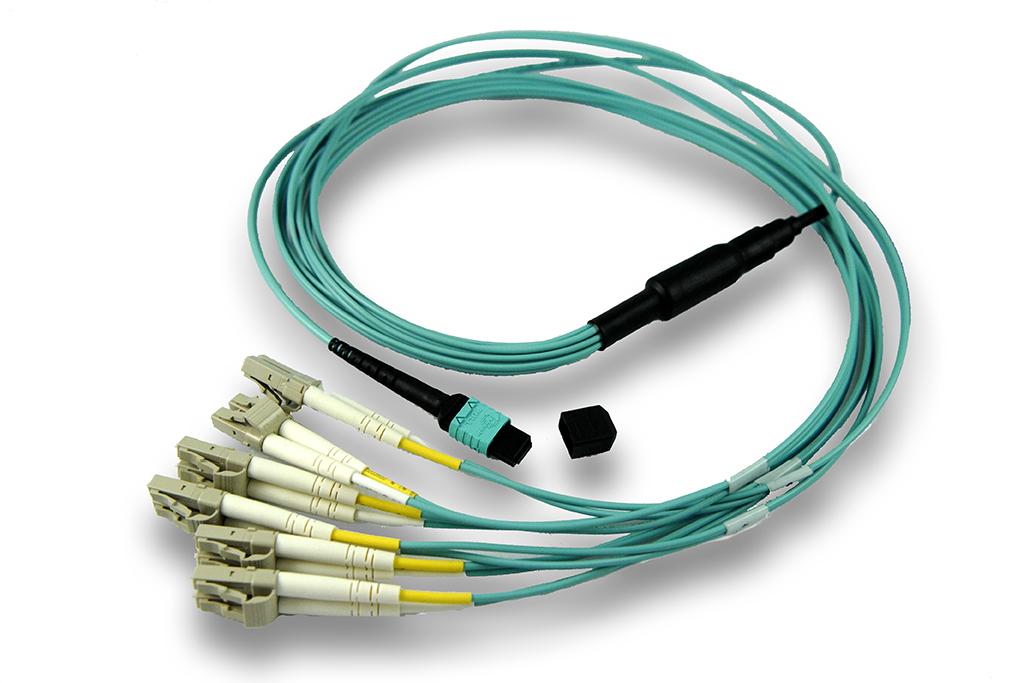 Plenum Rated, Multi Mode OM4 (Aqua): MTP to 6 Duplex LCs - CE ...