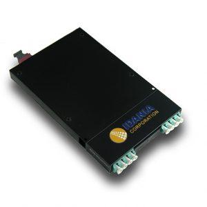 Cassette Module 8-Fiber OM4 Multi Mode Back MTP To 4 LC Duplex